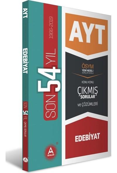A Yayınları AYT Edebiyat Son 54 Yıl Konu Konu Çıkmış Sorular