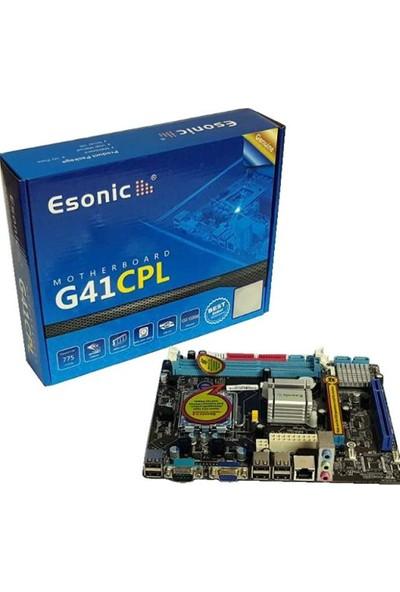 Esonic G41CPL 1333MHz DDR3 Soket 775 Mini ITX Anakart