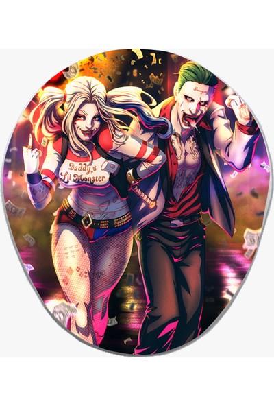 Hobi Tuning Harley Quinn ve Joker Desenli Mousepad