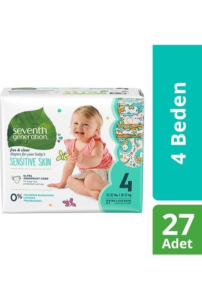 Seventh Generation 4 Beden 10 -15 kg Bebek Bezi