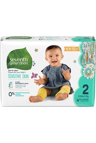 Seventh Generation 2 Beden 5-8 kg Bebek Bezi