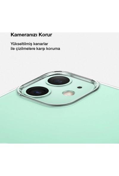 Toucan Apple iPhone 11 Kılıf Esnek Silikon 4 Tarafı Tam Koruma Şeffaf