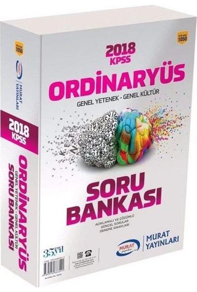 Murat Yayınları KPSS Lisans Genel Yetenek Genel Kültür Modüler Soru Bankası 2018