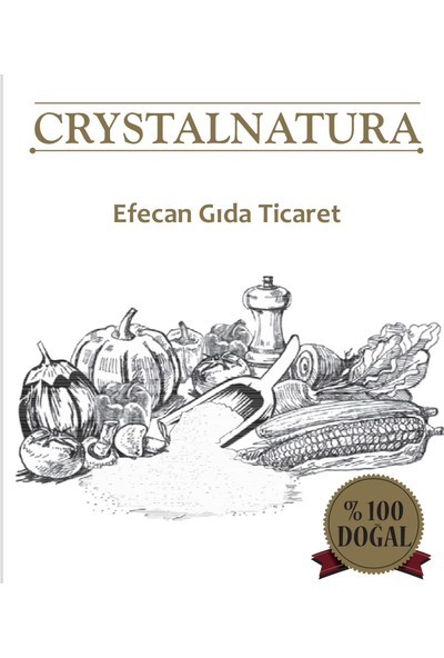 Crystal Natura Crystalnatura Doğal Çankırı Kaya Tuzu Granül