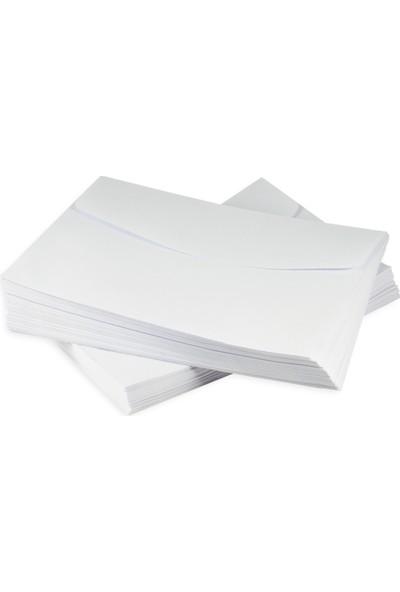 Övgü Beyaz Davetiye Zarfı