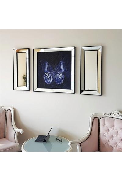Neostill Ayna Çerçeveli Tablo Temperli Cama Uv Baskı T812