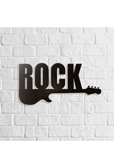 Dekkor Art Rock Müzik Metal Duvar Tablosu