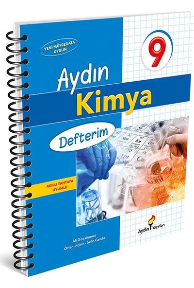 Aydın Yayınları 9.Sınıf Aydın Kimya Defterim