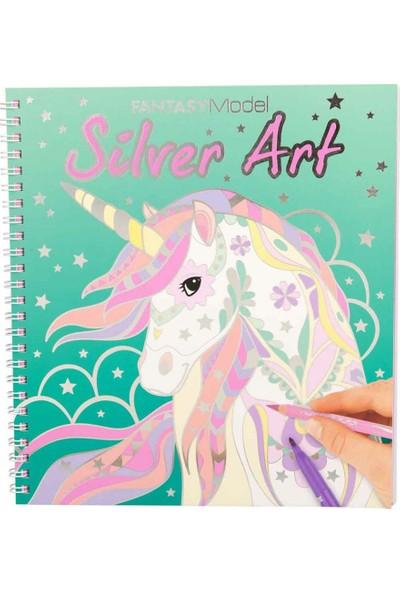 Fantasy Boyama Kitabı Silver Art 10622
