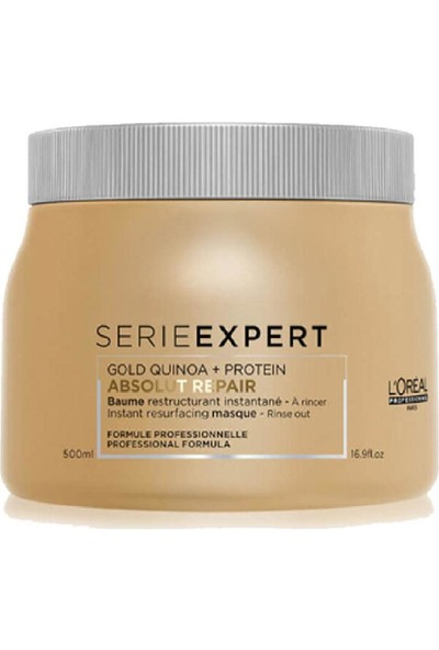 L'Oréal Serie Expert Repair Lipidium Gold Maske 500 ml