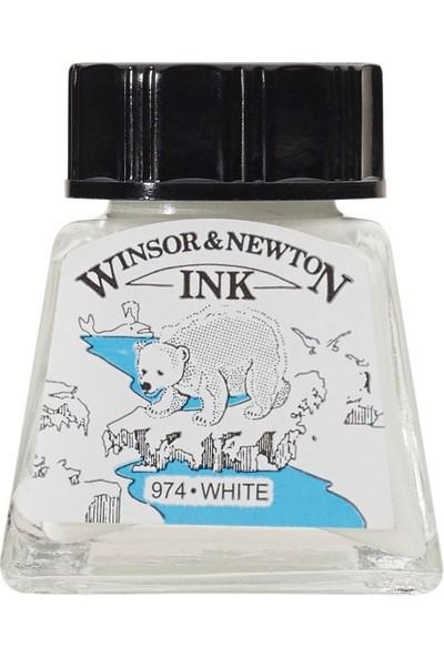 Winsor & Newton Drawing Ink Çizim ve Çini Mürekkebi 702 White