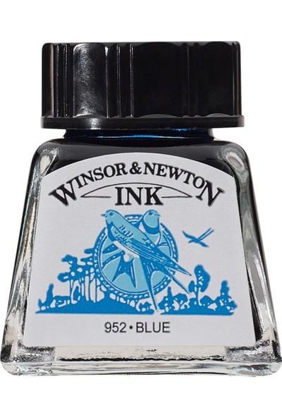 Winsor & Newton Drawing Ink Çizim ve Çini Mürekkebi 032 Blue