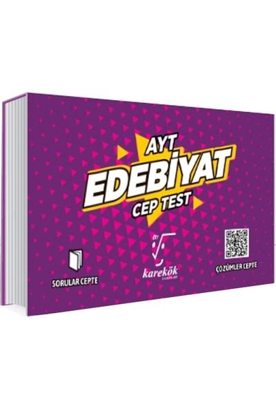 Karekök Yayınları AYT Cep Test Edebiyat