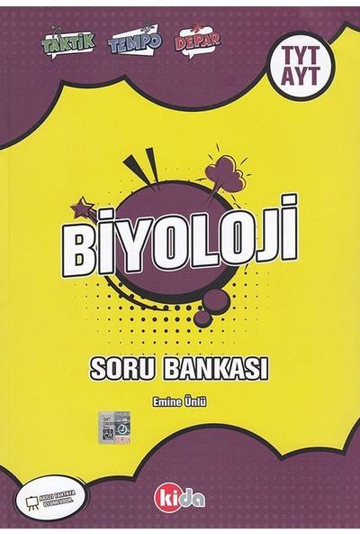 Kida Yayınları TYT AYT Biyoloji Soru Bankası Kida Yayınları