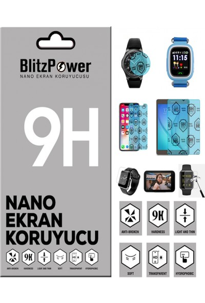 Blitzpower Huawei Y9 Prime 2019 Nano Glass Nano Ekran Koruyucu
