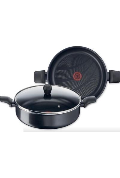 Tefal B2997253 Cook'n'Clean 28 cm Kısa Tencere - 2100111866