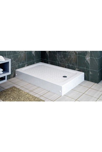 Ubm Banyo Dikdörtgen Duş Teknesi H:15 100 x 110 cm