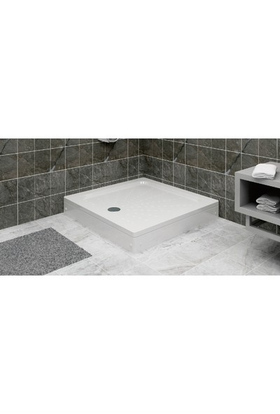 Ubm Banyo Kare Duş Teknesi H:15 70 x 70 cm