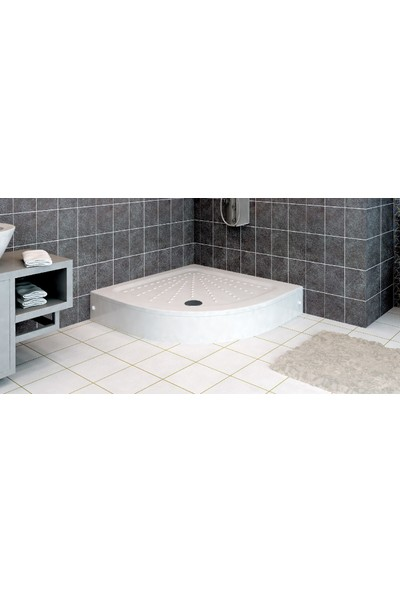 Ubm Banyo Oval Duş Teknesi H:20 100 x 100 cm