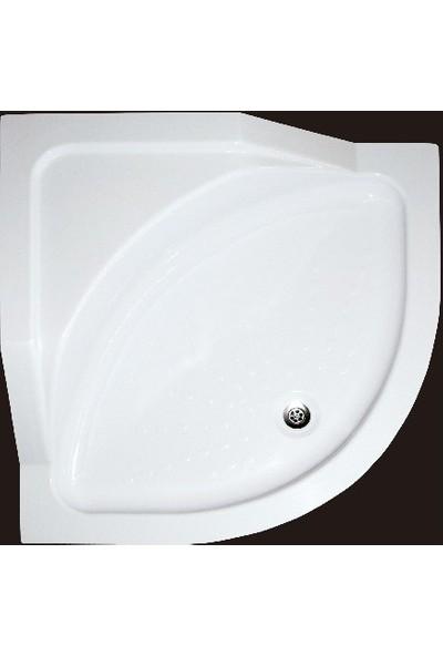 Ubm Banyo Oval Oturmalı Duş Teknesi 100 x 100 cm