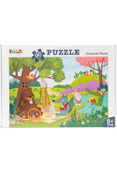 96 Parça Puzzle Ormanda Piknik