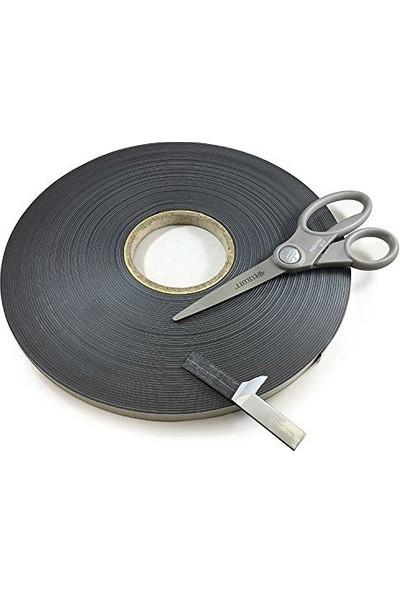 Dünya Magnet Yapışkanlı Şerit Mıknatıs Magnet 1, 2 mm Genişlik - 5 Metre Uzunluk
