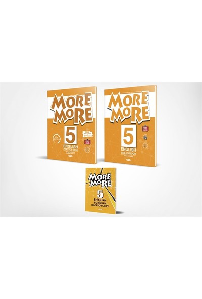 More&more English 5 Practice Book Skills Book + Dictionary