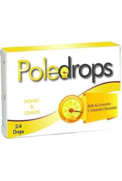 Deniz Pharma Poledrops Ballı Limonlu Pastil 24 Adet