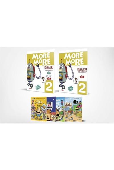 More&more English 2 Practice Book & Workbook + 5 Hikaye Kitabı