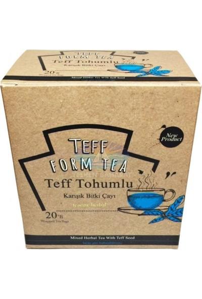 Nurs Lokman Hekim Teff Form Tea Karışık Bitki Çayı Nurs Lokman Hekim 1 Adet 20LI Faturalı Bandrollü