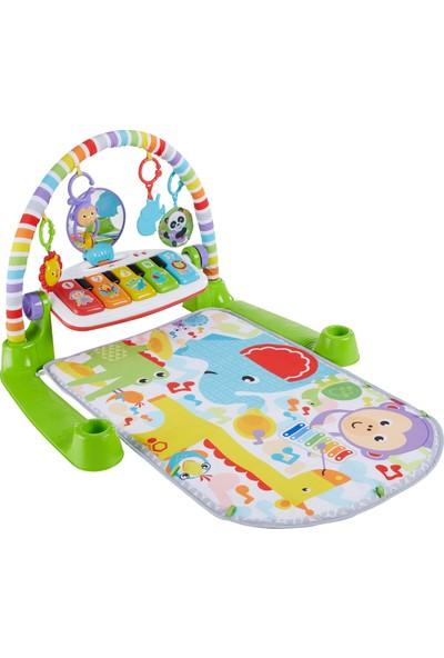 Fisher-Price Delüks Piyanolu Jimnastik Merkezi (Türkçe), Işıklı, Müzikli, Ayrı Kullanılabilir Klavyeli, 5 Oyuncaklı FWT16