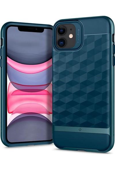 Caseology iPhone 11 Kılıf Parallax Aqua Green - ACS00303