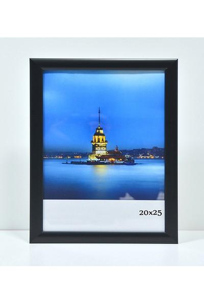 Özcanlar Kişiye Özel Resim Çerçevesi 20 x 25 cm Siyah