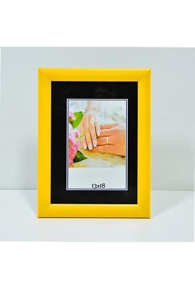 Özcanlar Kişiye Özel Resim Çerçevesi 13 x 18 cm Sarı