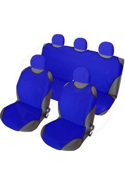 Özgüven Oto Giyim Oto Atlet Kılıf Seti Mavi
