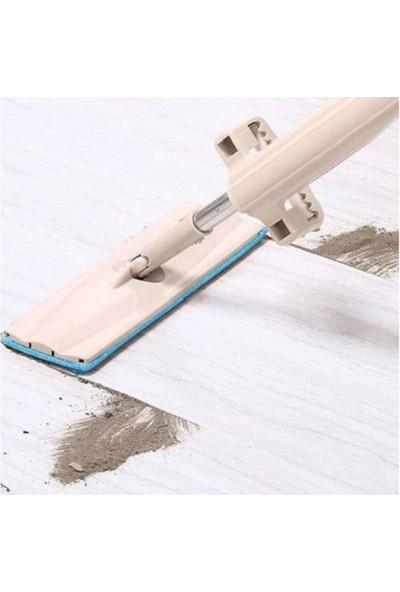 Spin Mop Tablet Mop Kendinden Sıkmalı Kovasız 2 Bez + 5 Tozbezi