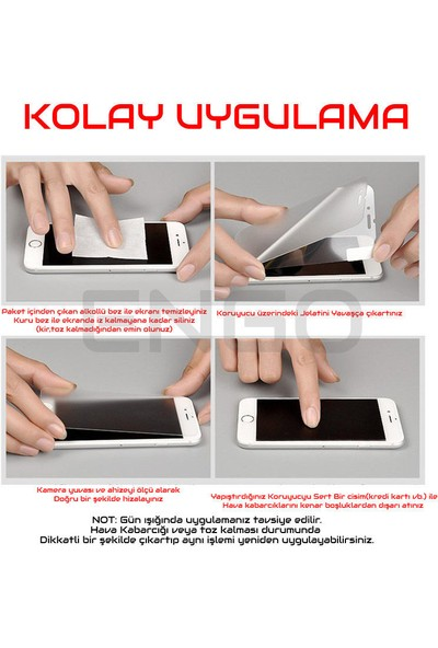 Engo Sony Xperia Xa1 Ultra Ekran Koruyucu Cam 2.5d 9h Temperli Şeffaf Ekran Koruyucu