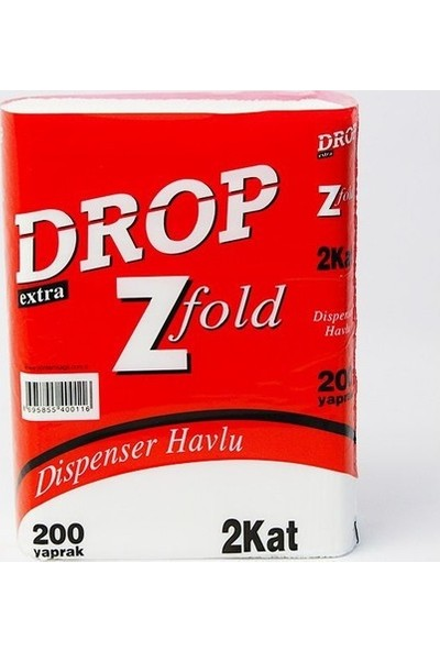 Drop Dispenser Havlu / Koli : 200 'lü 12 Paket