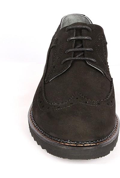 Bay Pablo F140 Siyah Erkek Ayakkabı ve Çorap
