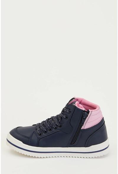 Defacto Yıldız Baskılı Kız Çocuk Sneaker