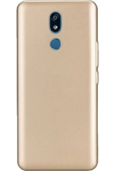 Kaltel Gsm LG K40 Mat Premier Silikon Kılıf - Gold