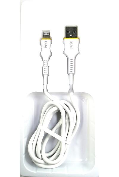 Idubi Lightning Data ve Şarj Kablosu 2.1A
