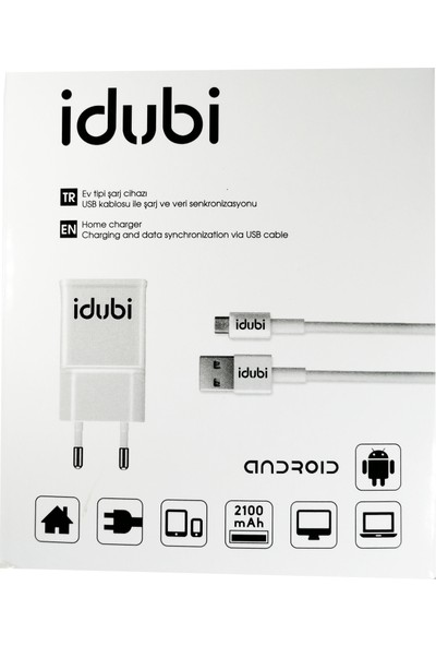 Idubi Şarj Cihazı Set 2.1 Amper