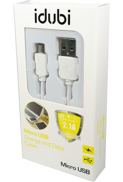 Idubi Micro USB Şarj ve Data Kablosu 2.1A