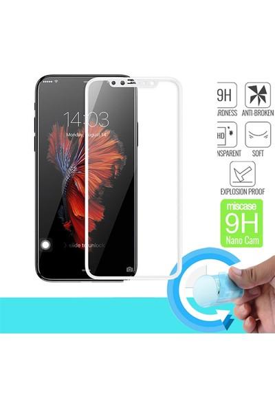 Fujimax iphone 11 Silokon Çerçeveli Trion Temperli Kılıf + Çizilme Önleyici Ve Tam Kaplayan Fiber Nano Koruyucu - Siyah