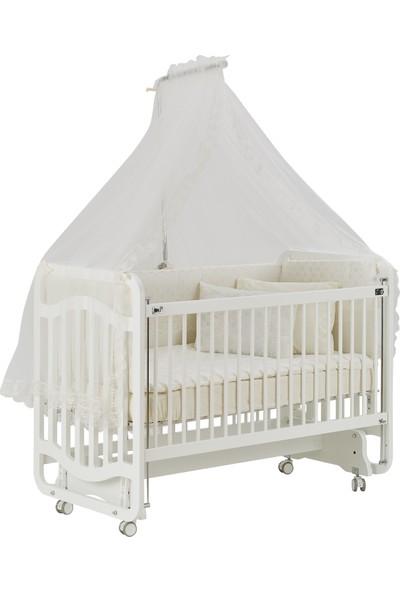 Gg Baby Bebek Uyku Seti Krem Lüks Pamuk 11 Parça