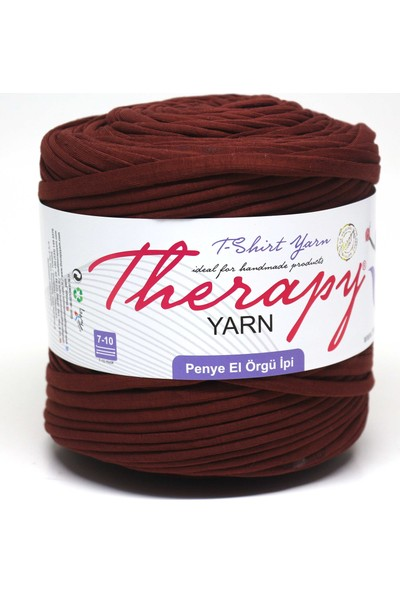 Therapy Yarn Penye Ip Bordo