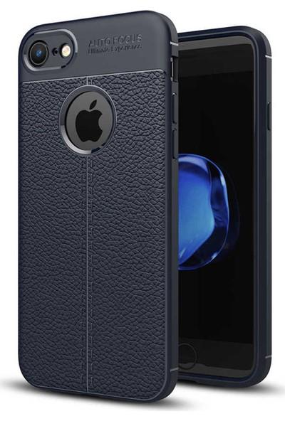 Livadi iPhone 8 Kılıf Niss Silikon Yeni Nesil Tam Koruma Kılıf - Lacivert