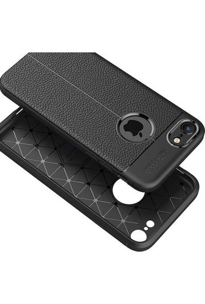 Livadi iPhone 8 Plus Kılıf Niss Silikon Yeni Nesil Tam Koruma Kılıf - Lacivert