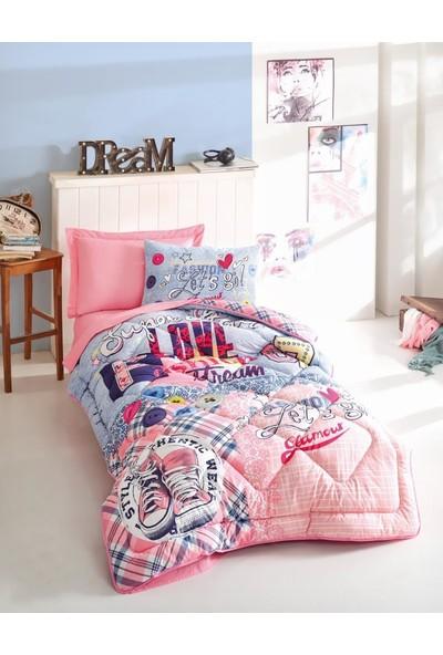 Cotton Box Genç Grubu Tek Kişilik Uyku Seti - Superstar Pembe